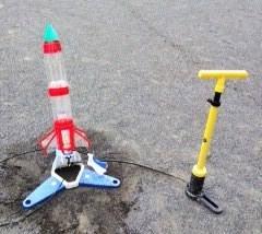 ゲーム大会ペットボトルロケット