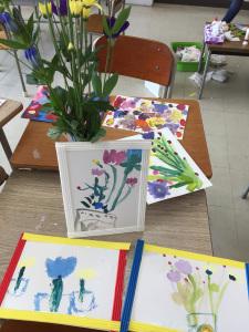 アート教室【秋の花を感じて描こう】