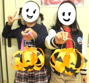 かぼちゃ型キャンディーポット